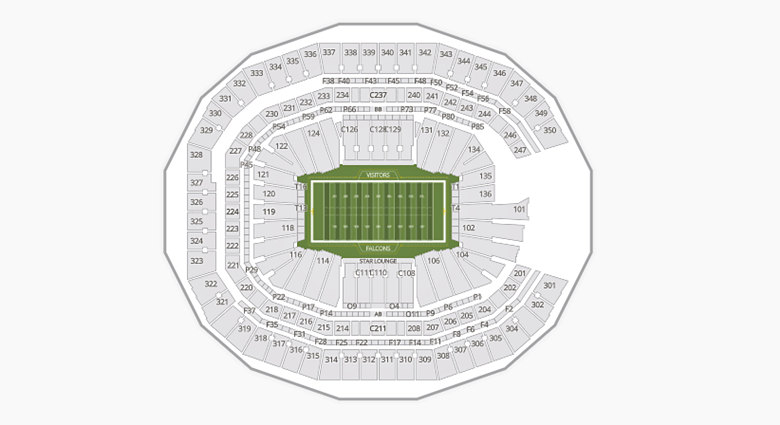 Mercedes Benz Stadium Seating Chart