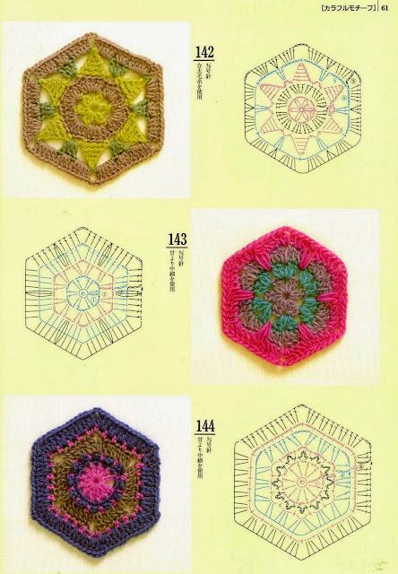 Motivos de Crochê Com Gráfico 22