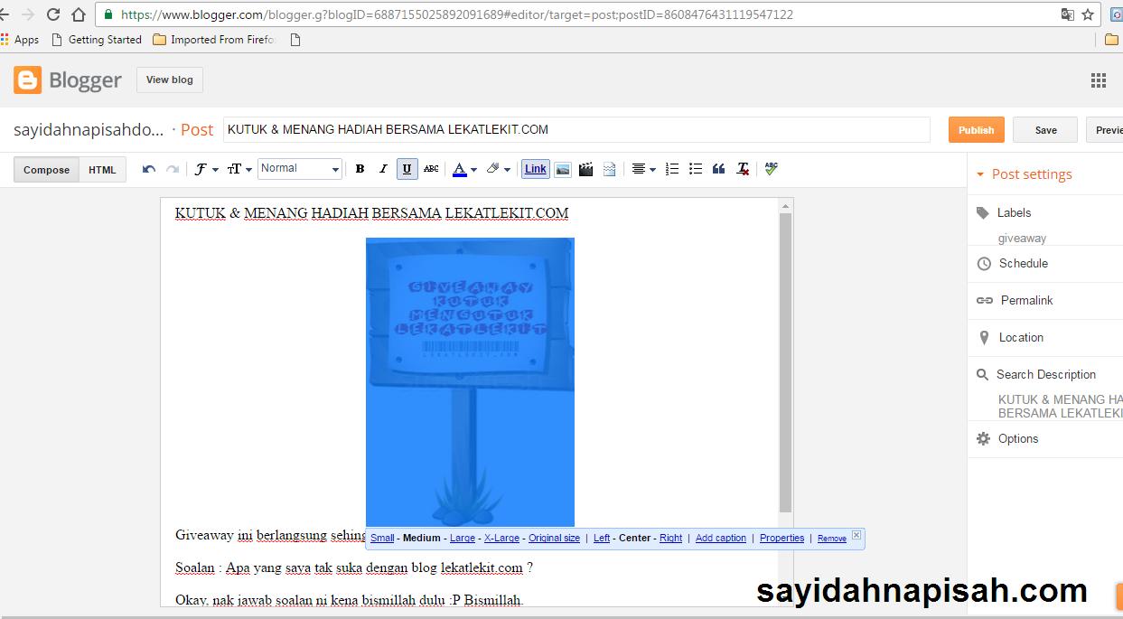 KUTUK & MENANG HADIAH BERSAMA LEKATLEKIT.COM