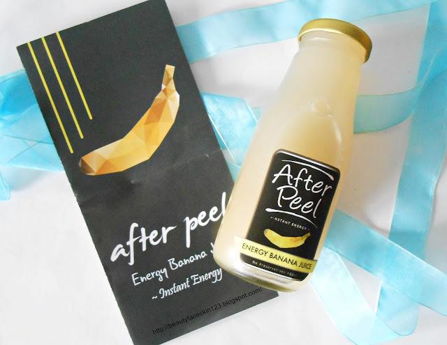 CUBECRATE JUNE 2016-After Peel Banana Juice