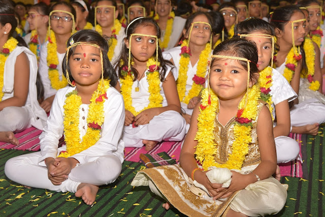 More than 500 children attended the SANSKAR SHIVIR camp