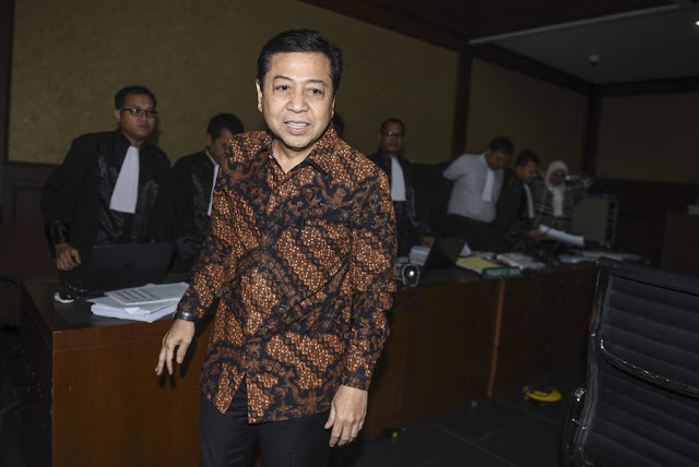 KPK Kaji Surat DPR Soal Alasan Setya Novanto Mangkir di Pemeriksaan