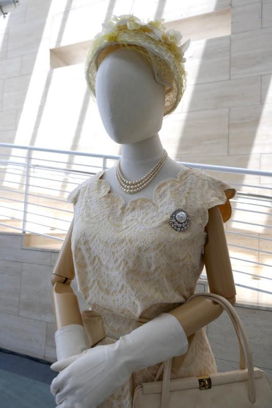 Queen Elizabeth II Ghana costume detail Crown season 2