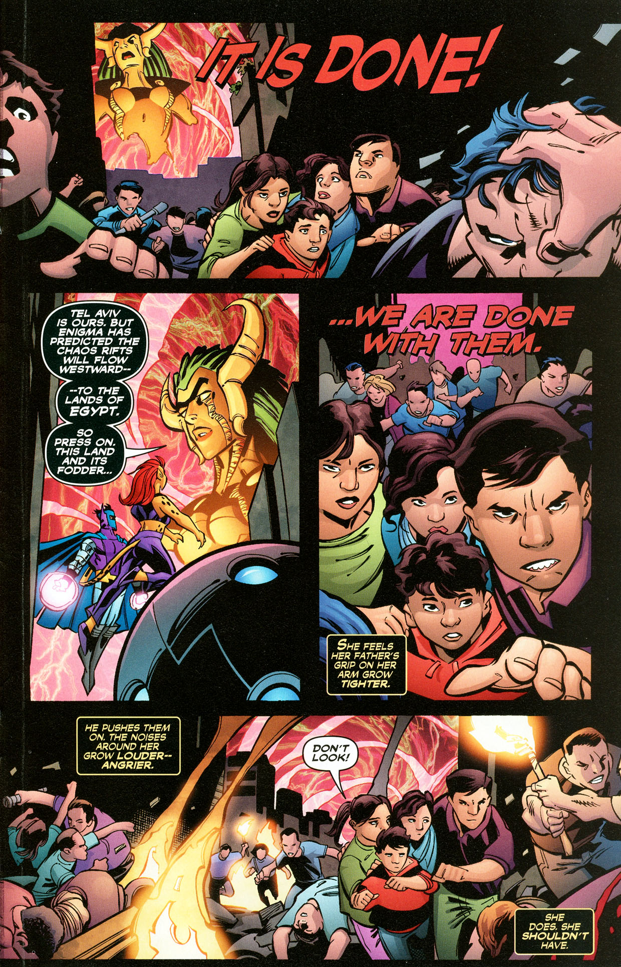 Read online Trinity (2008) comic -  Issue #33 - 24