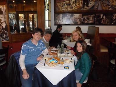 Argentina; Buenos Aires; turismo América Latina; restaurante Los Inmortales