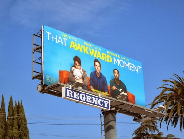 That Awkward Moment film billboard