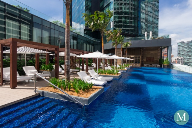 Outdoor Swimming Pool at Four Seasons Hotel Kuala Lumpur