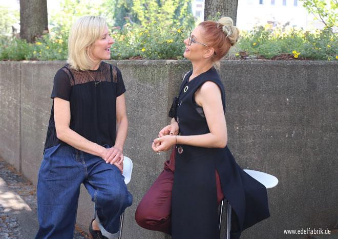 Loni Bauer und Chrissie aus der Edelfabrik