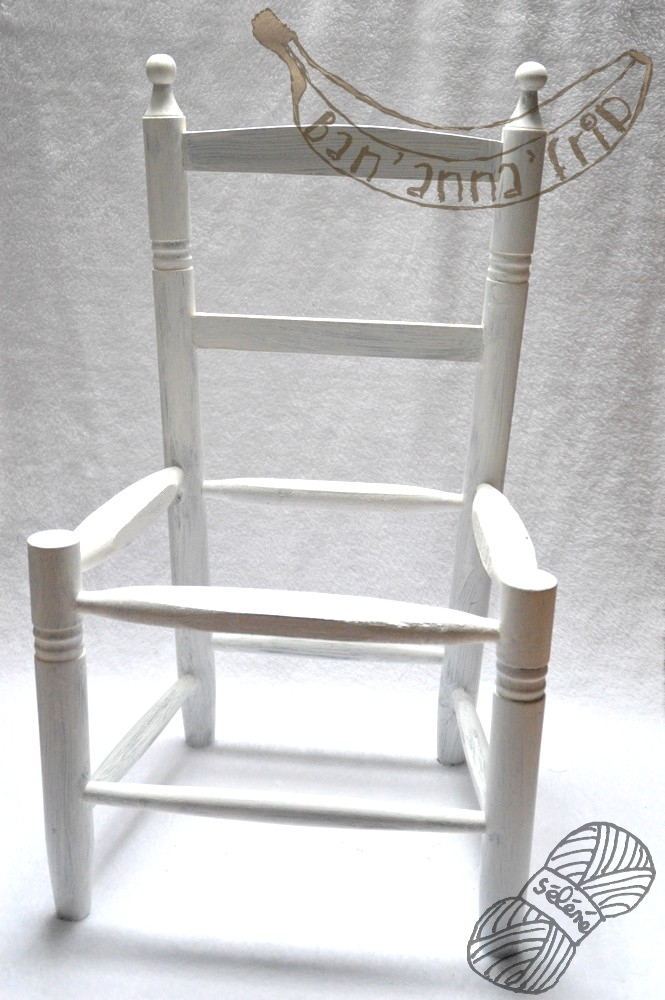 Petite chaise paysanne for Chaise paysanne blanche
