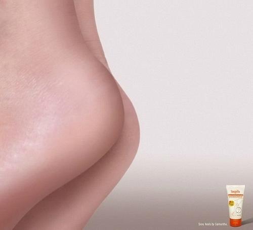 Промо увлажняющего крема для стоп