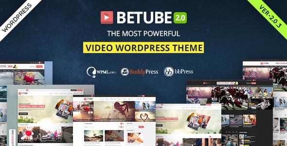 BETUBE 2.0.2 Nulled Video Wordpress Theme - ECDLTheme - Free Premium ...
