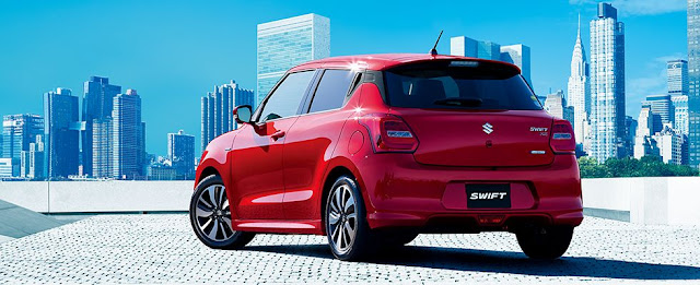 Maruti swift 2017 red