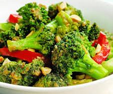 Pepper and Peanuts Broccoli stir fry recipes - foodocon