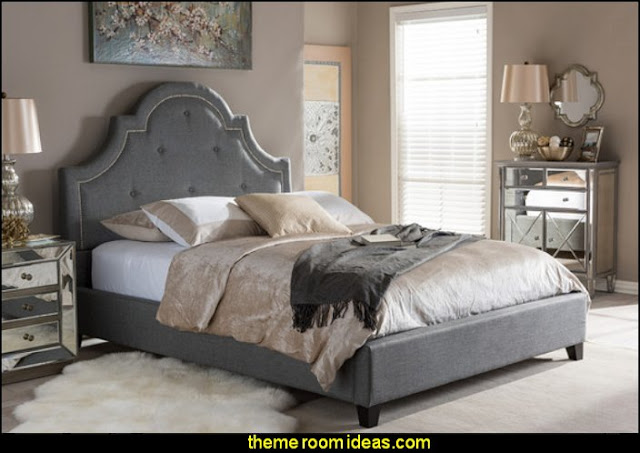 Norwich Upholstered Platform Bed   bedroom ideas - bedroom decorating - bedroom furniture - bedding - bedroom decor -