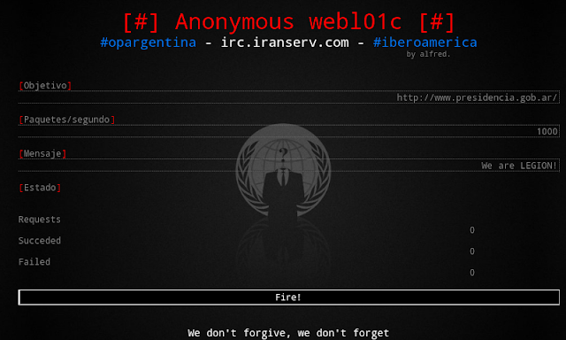 Anonymous Hackers Develop Webloic Ddos Tool For Android