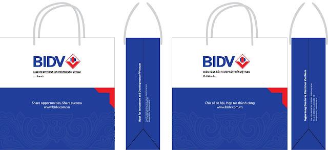 mẫu in túi giấy quảng cáo