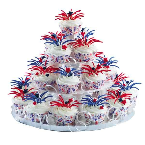 Firework Decorations For Cakes