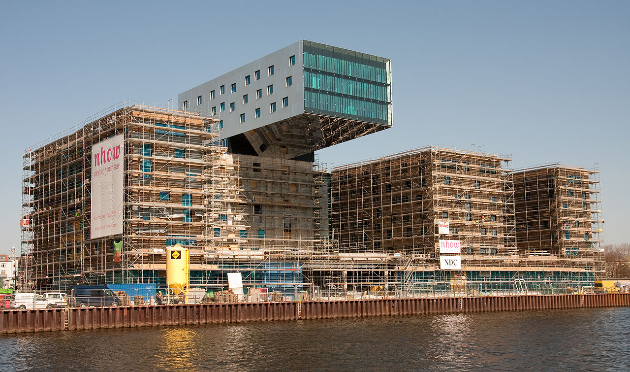 Amedeo liberatoscioli nhow berlin hotel for Berlino hotel design