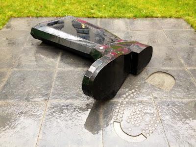 Резиновый сапог - скульптура Эдинбург