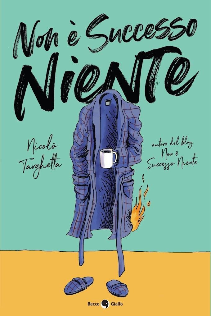 Nicolò Targhetta: esce il libro 'Non è successo niente'
