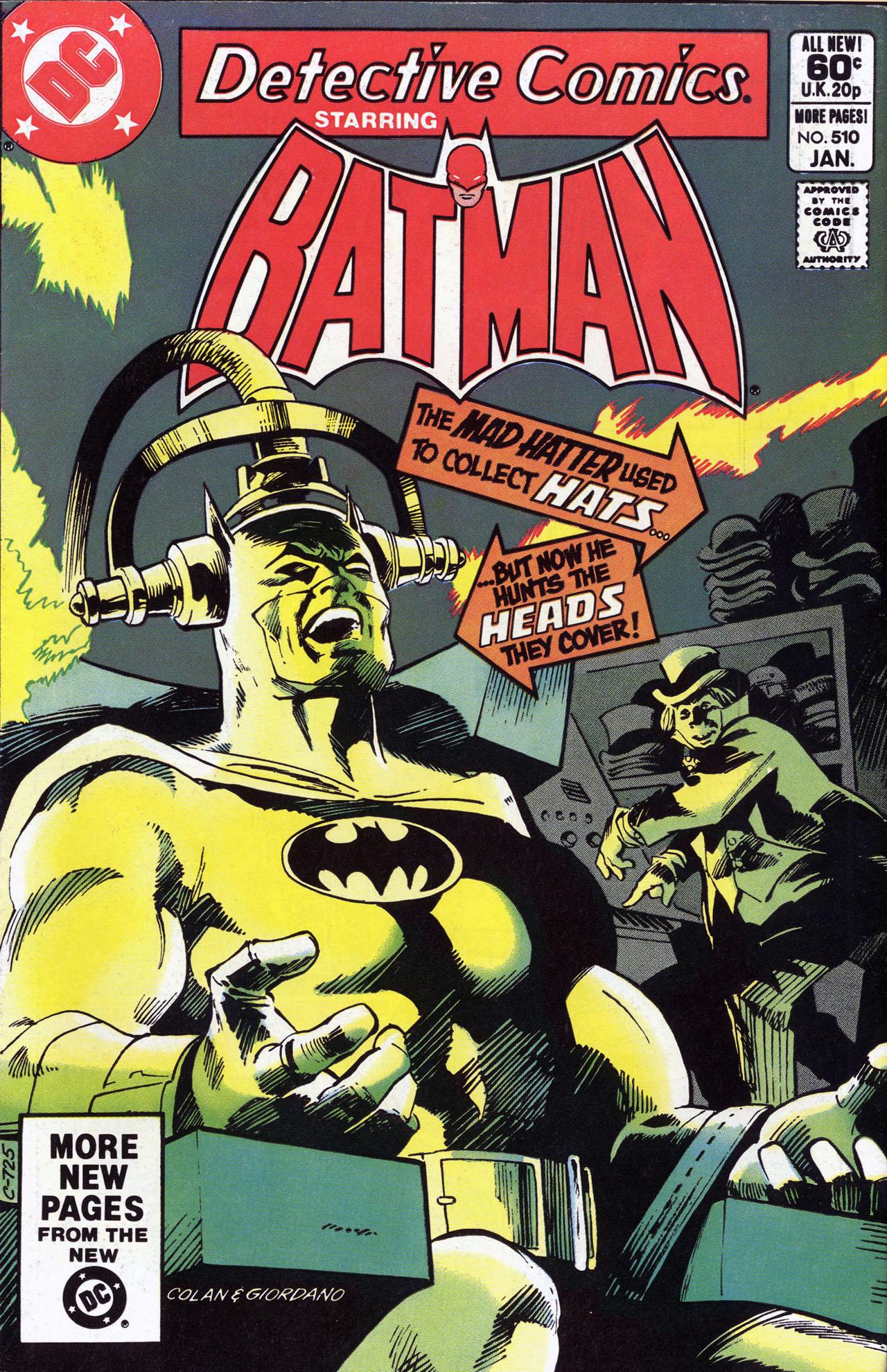 Detective Comics (1937) 510 Page 1
