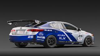 Dream Fantasy Cars-Acura ILX Endurance Racer
