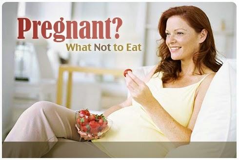 makanan dilarang untuk ibu hamil