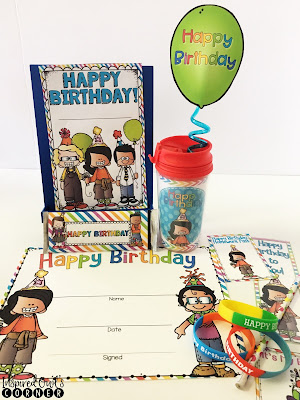 Student Birthday Ideas and Printables