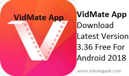 VidMate For Mobile HD Video Downloader-www.missingapk.com
