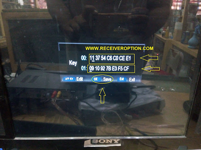 SHAHEEN SR-170 HD RECEIVER POWER KEY OPTION