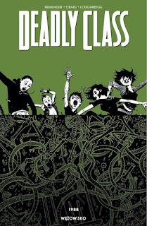 Deadly Class tom 3 okładka