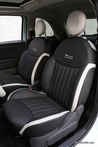 2014 Fiat 500 Cult Seats