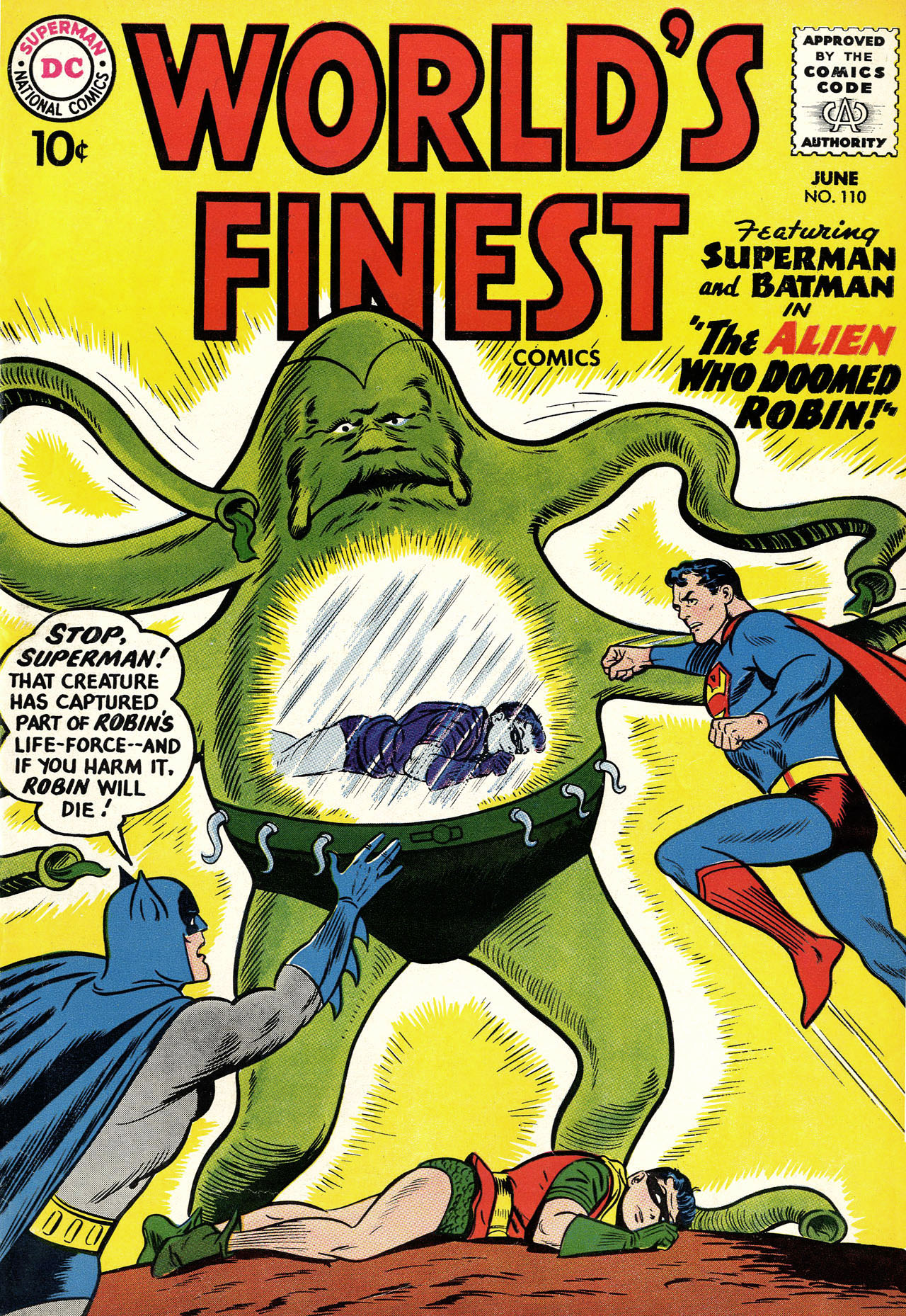 Read online World's Finest Comics comic -  Issue #110 - 1