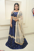 Niveda Thomas in Lovely Blue Cold Shoulder Ghagra Choli Transparent Chunni ~  Exclusive Celebrities Galleries 053.JPG