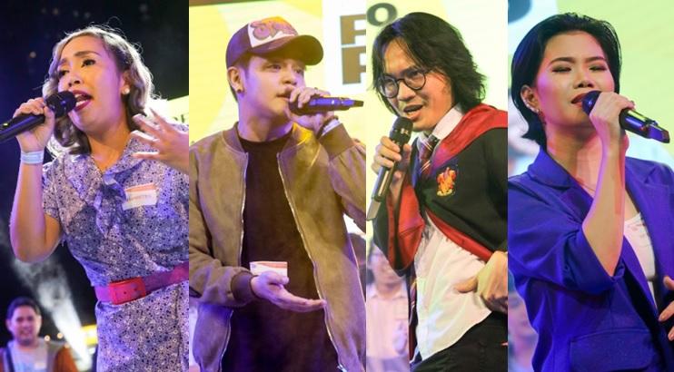 PhilPop 2018 Kakai Bautista, Julian Trono, BennyBunnyBand and Katrina Velarde.