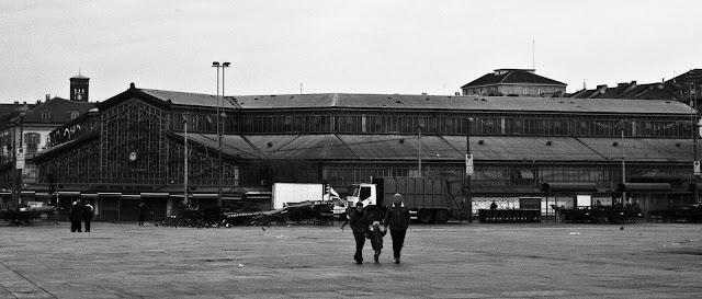 Turin, porta Palazzo, mercato coperto