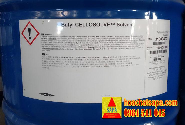 Butyl Cellosolve - Butyl Glycol - Dung Môi BCS