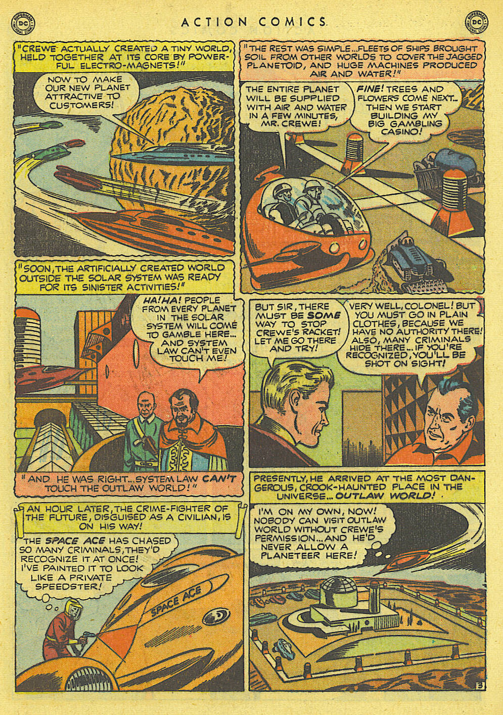 Read online Action Comics (1938) comic -  Issue #145 - 16
