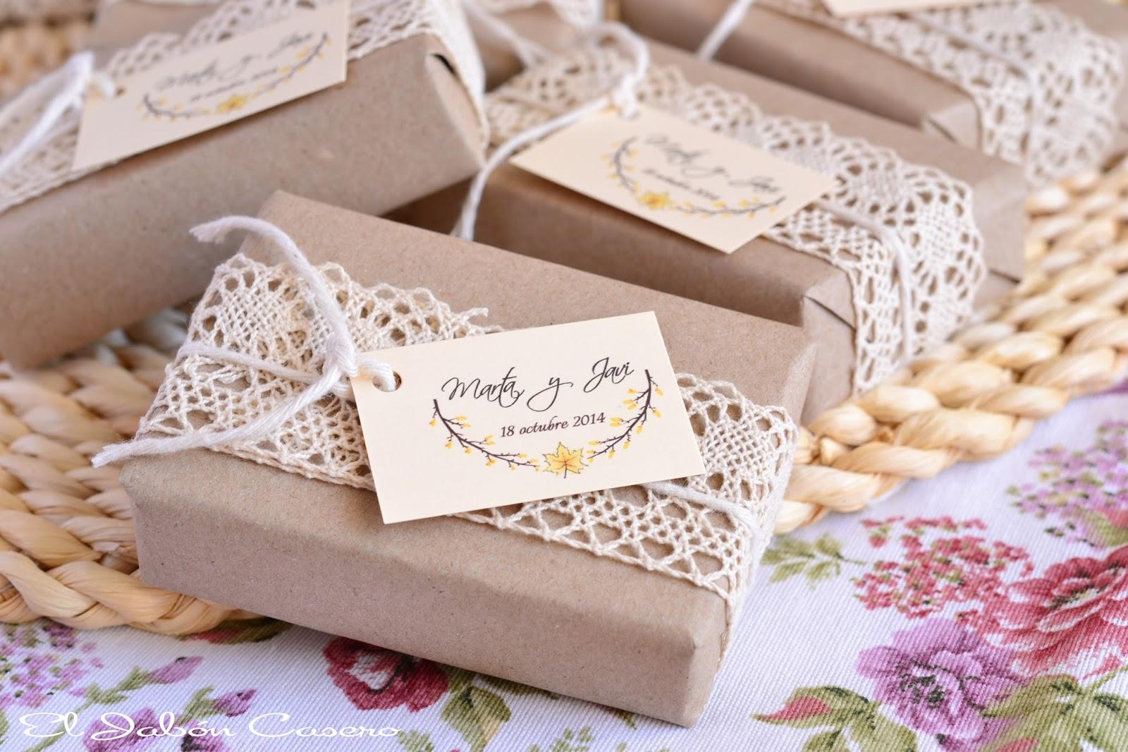 jabones vintage para detalles de boda