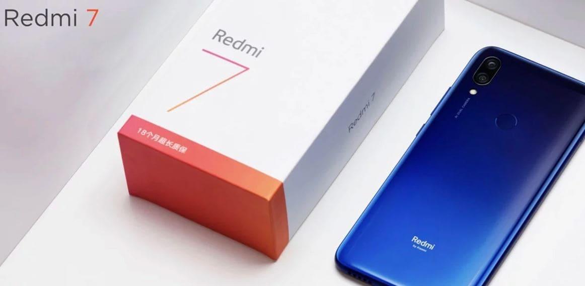 مواصفات وميزات موبايل شاومي ريدمي 7 Xiaomi Redmi