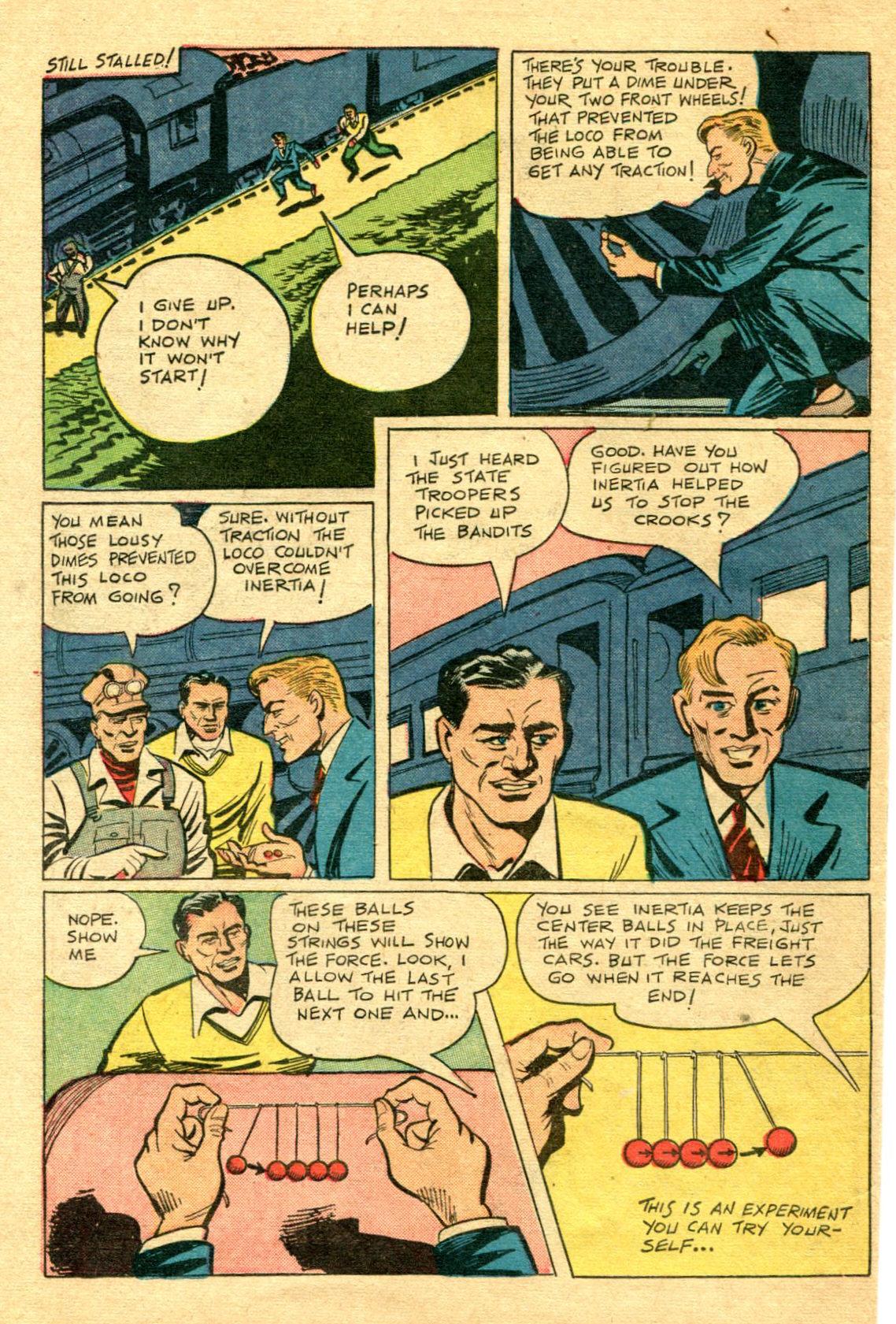 Read online Shadow Comics comic -  Issue #75 - 37