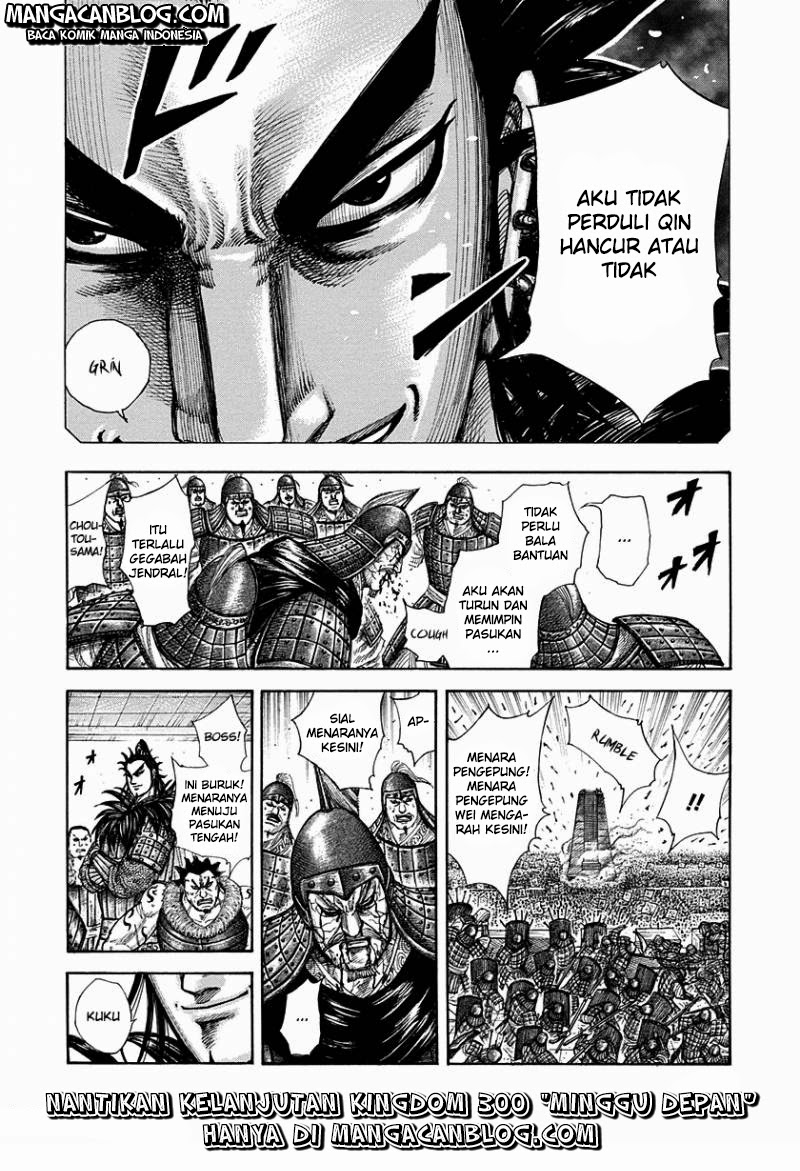 Baca Komik Manga Kingdom Chapter 299 Komik Station