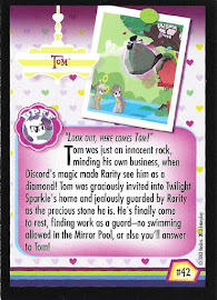 My Little Pony Tom Series 2 Trading Card