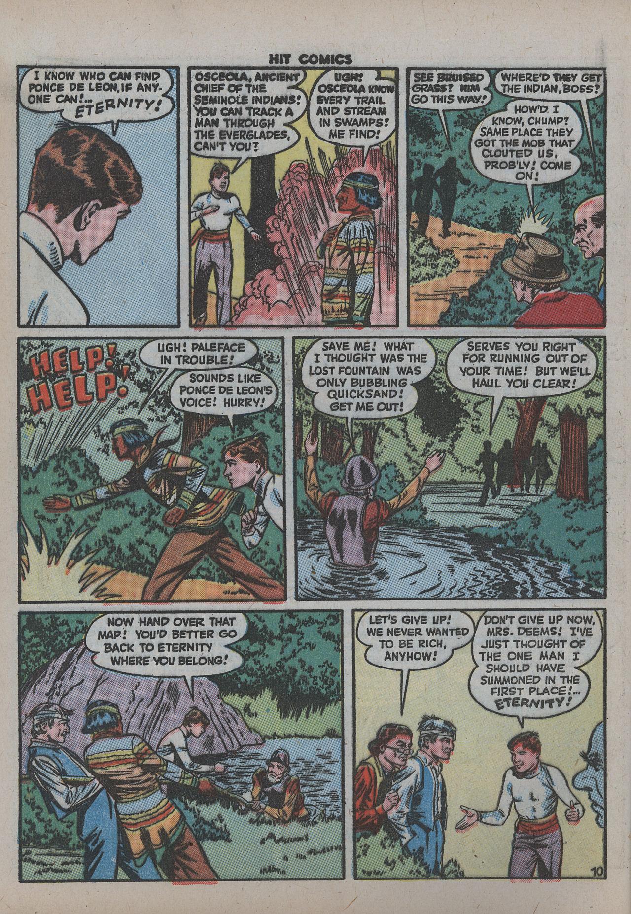 Read online Hit Comics comic -  Issue #38 - 15