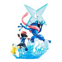 Ash y Greninja G.E.M. de Pokémon - MegaHouse