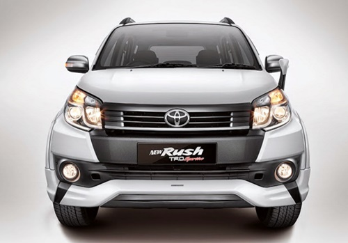 Features All new Toyota Rush TRD Sportivo 2015