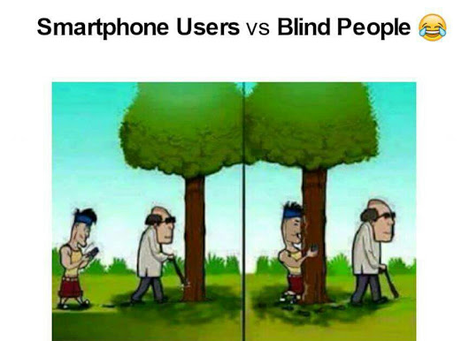 Smart Phone User Joke