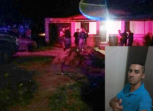 A vítima foi morta na casa da namorada. (Foto: Reprodução: Informe Barra)