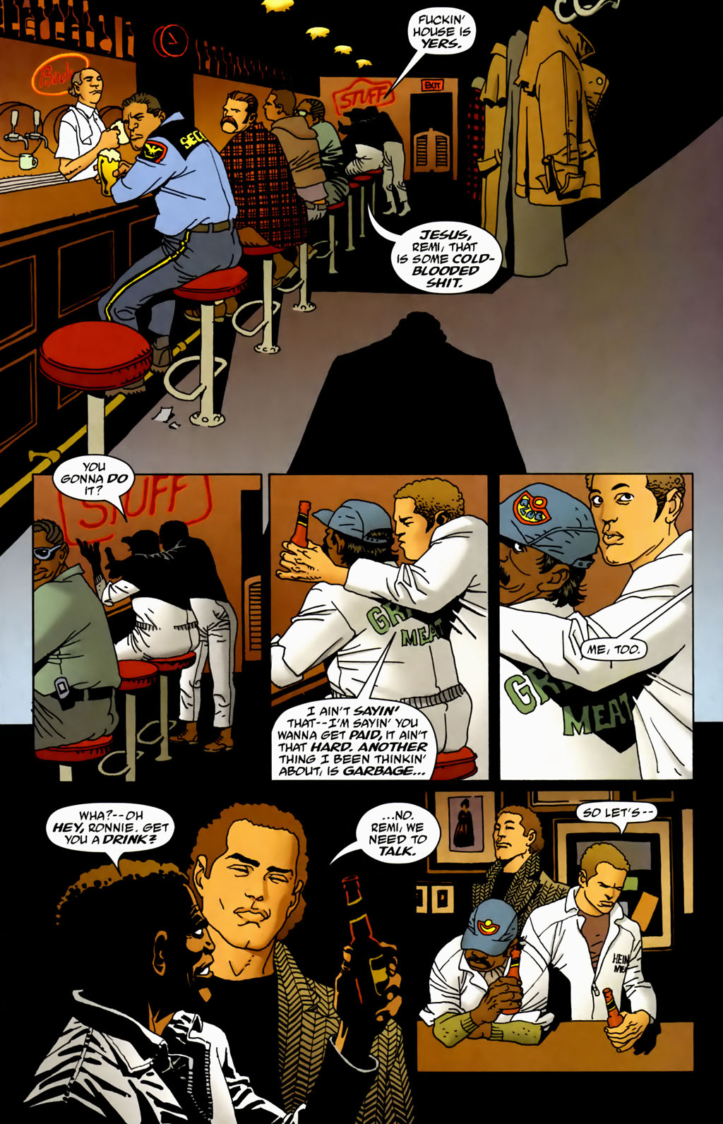 Read online 100 Bullets comic -  Issue #70 - 13