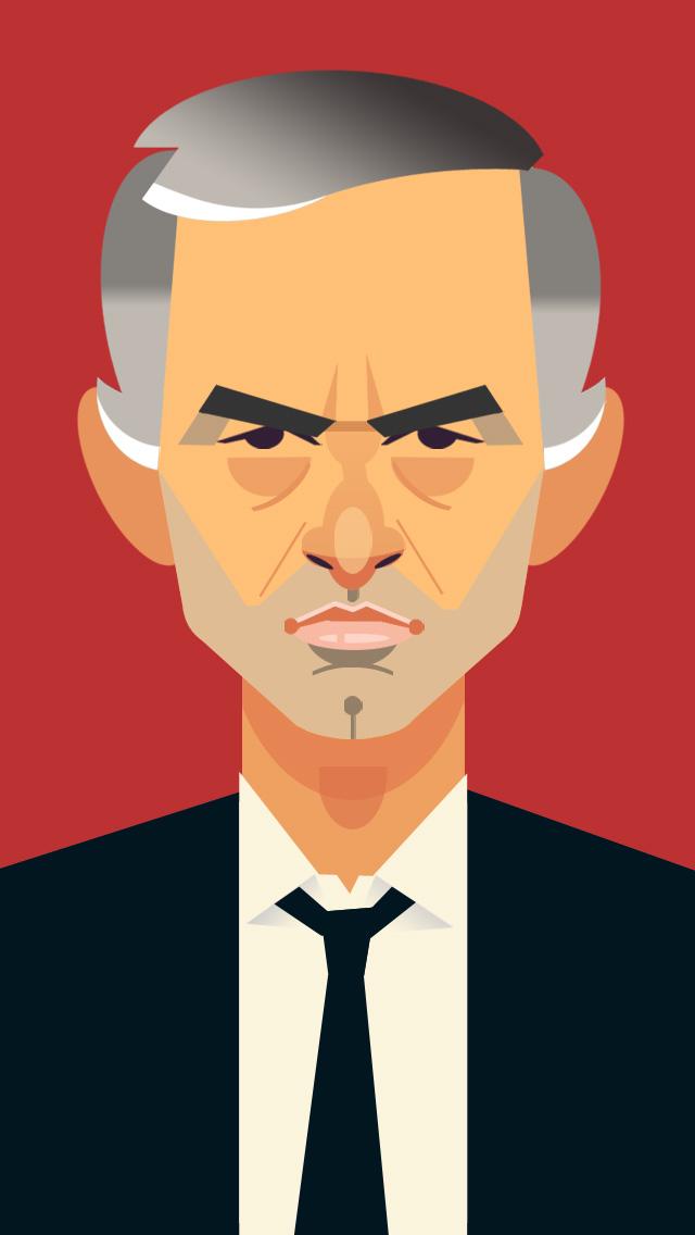 José Mourinho por Daniel Fibla